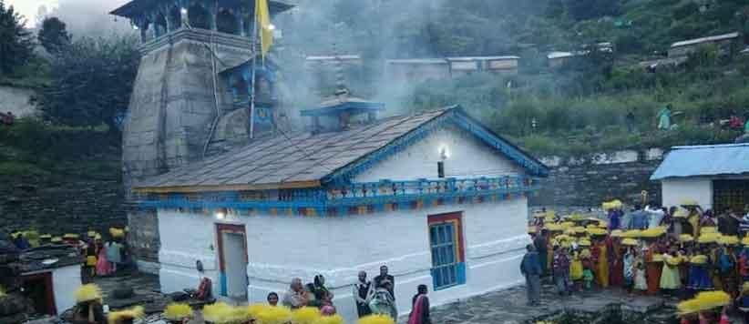 भगवान शिव और पार्वती का विवाह स्थल त्रियुगीनारायण