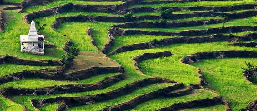 Ranikhet popular tourist destination of Uttarakhand