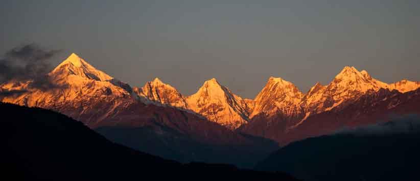 पिथौरागढ़ में सूर्योदय और सूर्यास्त की दस तस्वीरें: विश्व पर्यटन दिवस विशेष