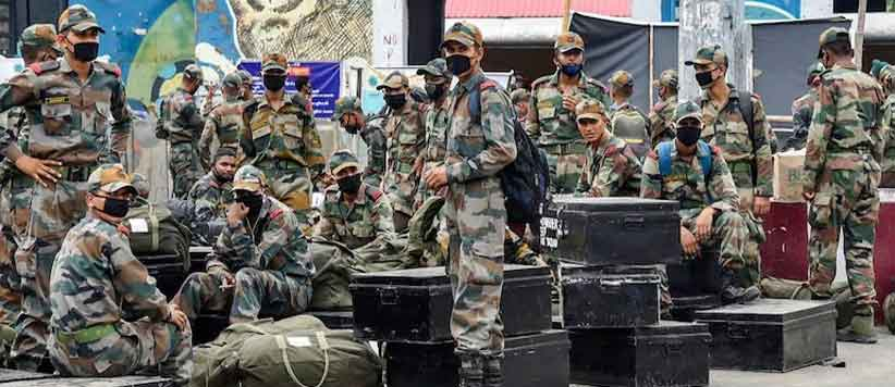 Uttarakhand Soldiers in Army